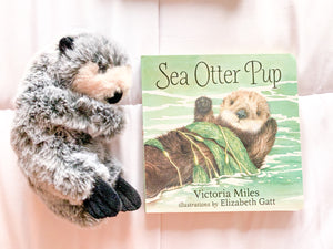 Purple Sea Otter Gift Set