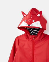 Load image into Gallery viewer, Riverside Red Fox Novelty Raincoat