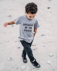 Love Bubby Speaker of the House Tee
