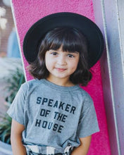 Load image into Gallery viewer, Love Bubby Speaker of the House Tee