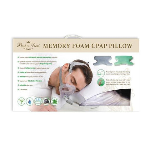 Memory Foam CPAP Pillow  - MonsterCPAP
