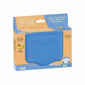 Contour Flat Pack CPAP Mask Wipes - MonsterCPAP