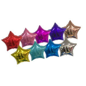 PERSONALIZED CLUSTER w STAR FOIL - CHROME COLOR