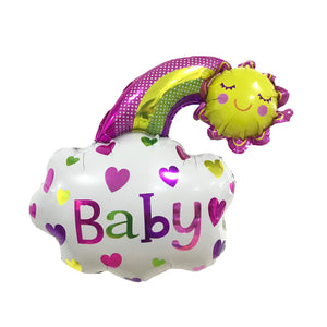 "18"" BABY BOY/GIRL CLOUD FOIL"