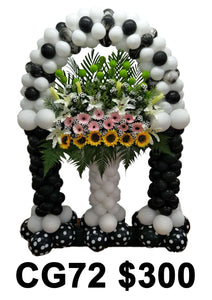 Condolence Wreath CG72