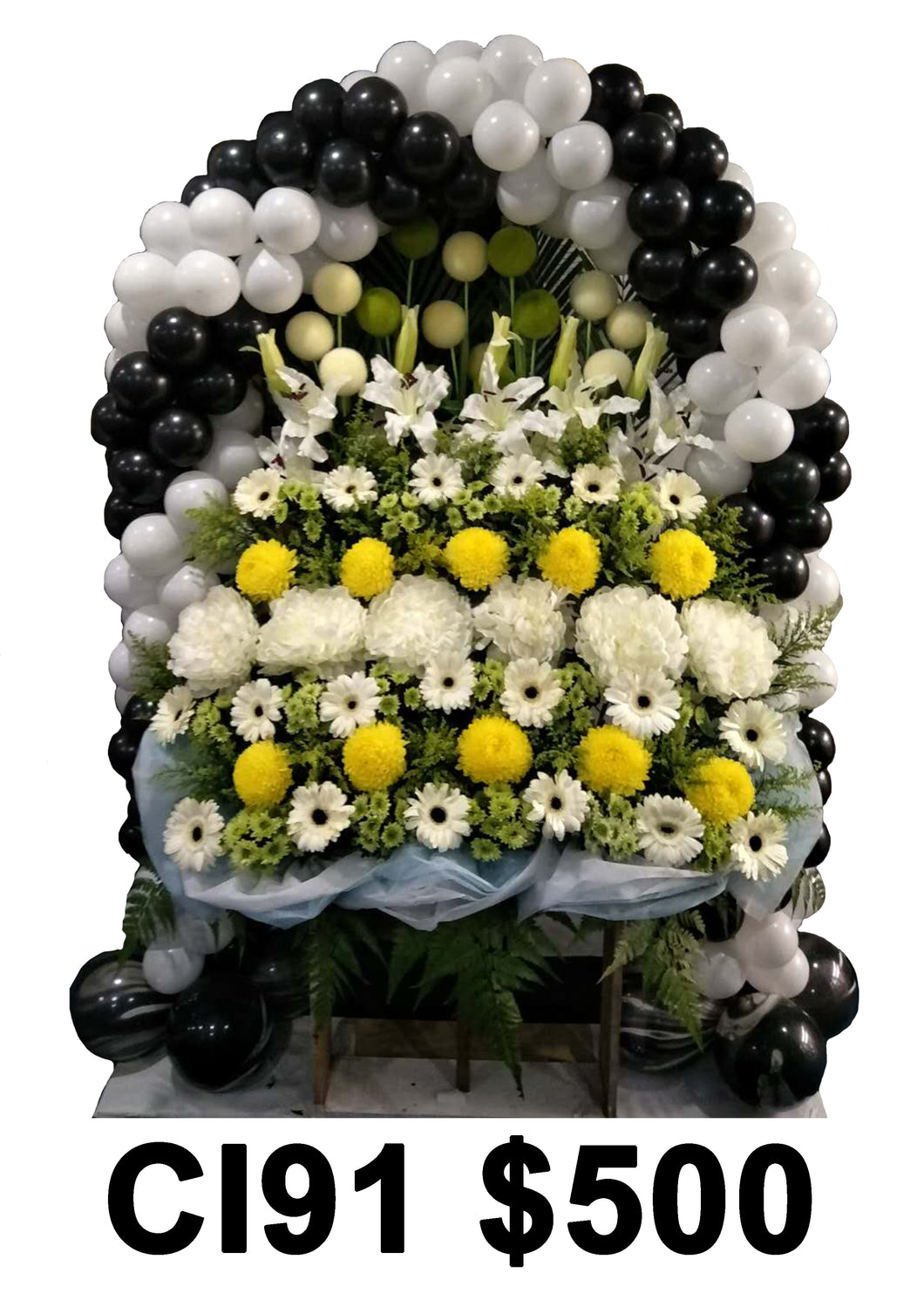 Condolence Wreath CI91
