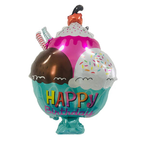 "18"" SUNDAE BIRTHDAY FOIL"