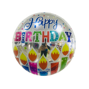 "18"" CANDLES BIRTHDAY FOIL"