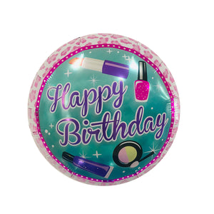 "18"" COSMETICS BIRTHDAY FOIL"