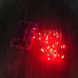 FAIRY LIGHTS (3 METERS) - RED
