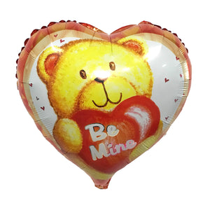 "18"" BE MINE BEAR HEART"