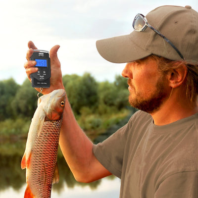 Backlit LCD Display Fishing Scale