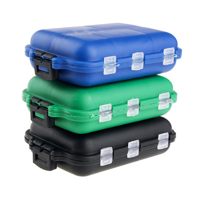 Mini Fishing Tackle Box with 10 Compartments