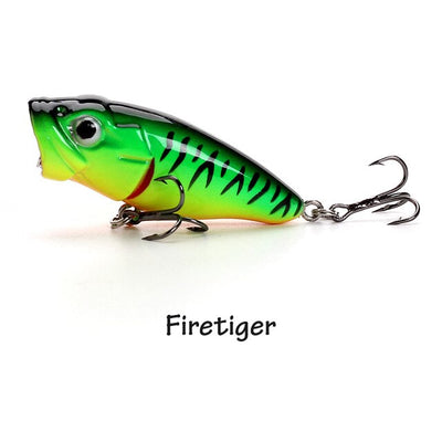 Banshee 45mm 3.3g Mini Popper Fishing Lure Hard Bait