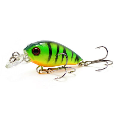 4.5cm 4.2g Crankbait Fishing Lure Artificial Crank Hard Bait