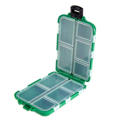 Green Ocean Tackle Mini Fishing Tackle Box Fish Line Gear Lures  Box Hooks Online Fishing Store
