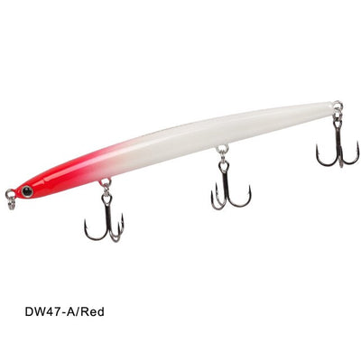 Sinking Pencil Fishing Bass Lure Treble Hooks