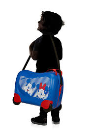 SAMSONITE Dječji kofer  43C-30001 Dream Rider Disney kofer Minnie / Mickey Stripes