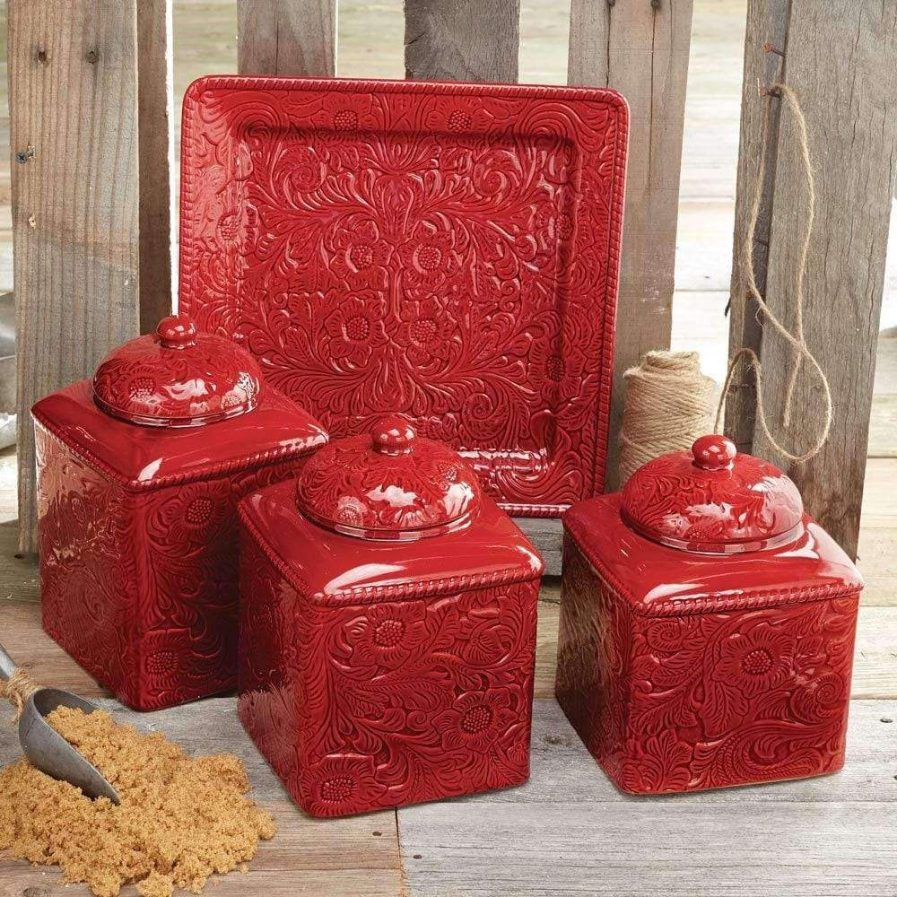 Red Western Kitchen Accessories Your Western Decor Llc