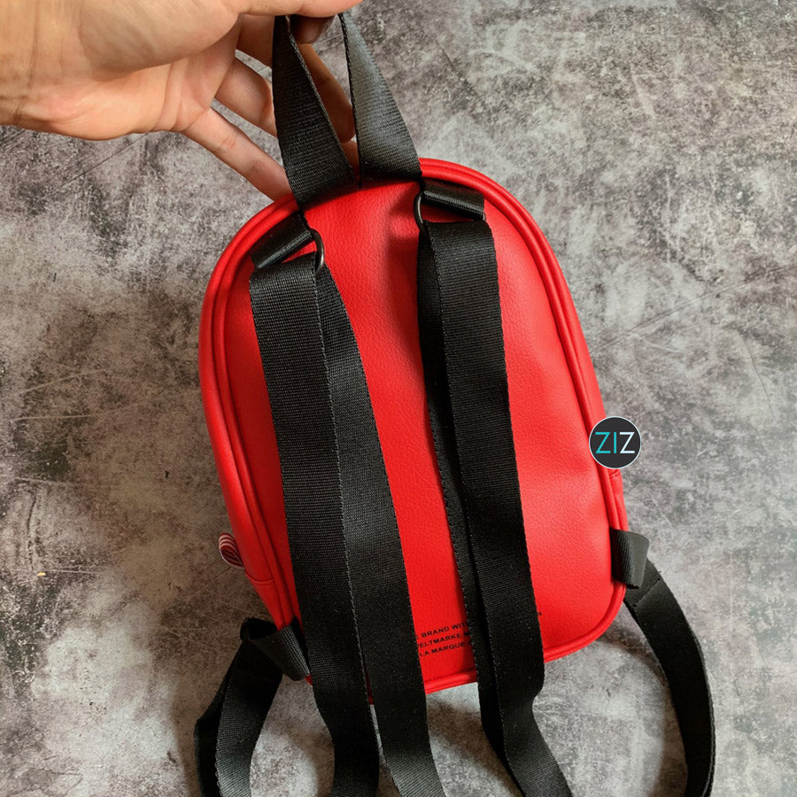 Balo mini Nữ - Red Mini Backpack