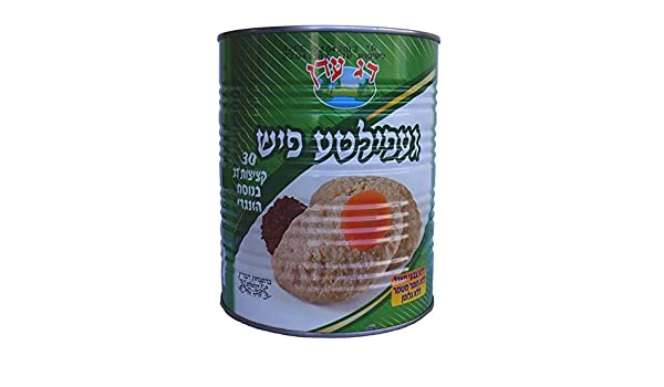 Gefilte Fish Hungarian-style fish (30 patties) 3kg