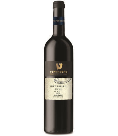 Teperberg Impression Sangiovese, Dry Red Wine, 750ml
