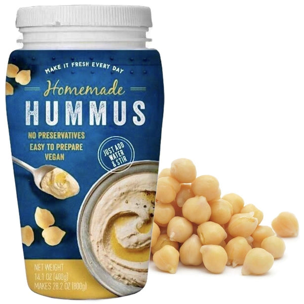 Homemade Hummus Paste- Rich Creamy Paste for Hummus, Dips & Spreads. 400g