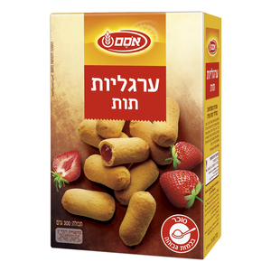 """Argaliot"" Cookies with Strawberry Filling, 300g"
