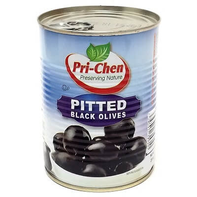 Pitted Black Olives  560g