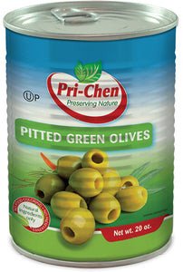 Pitted Green Olives Whole 560g