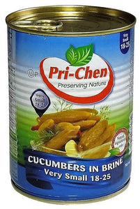 "Pickeld Cucumbers brine, ""Pri-Chen"" 18-25 units (Small)"