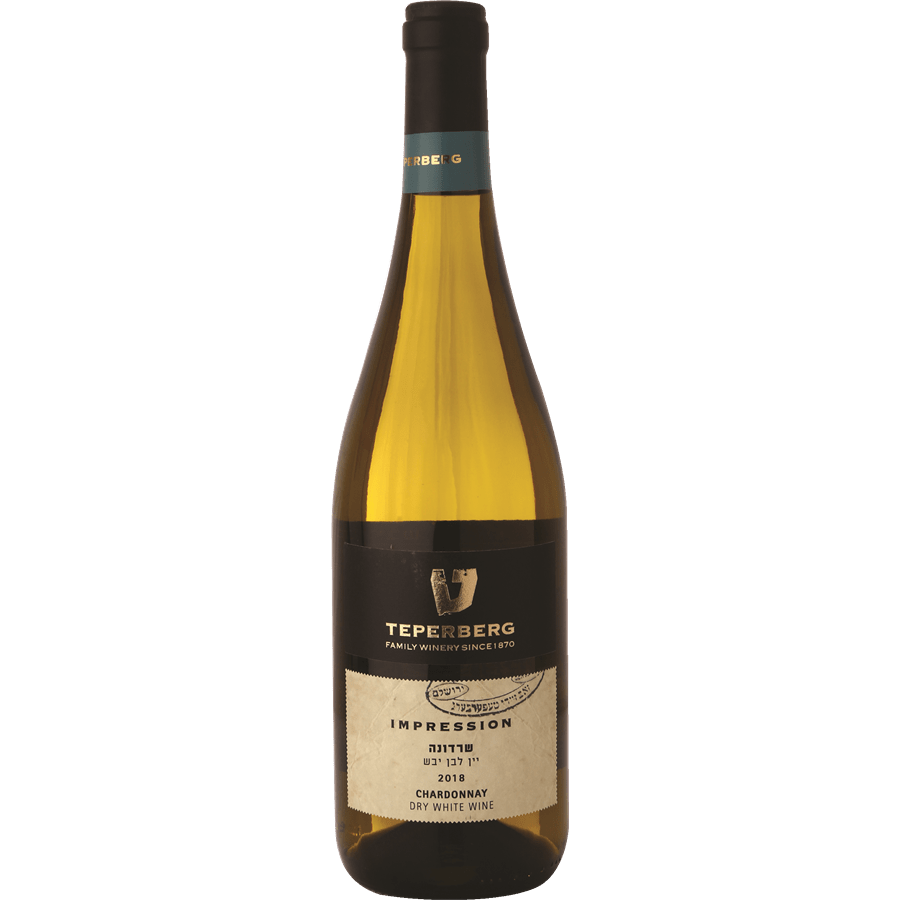 Teperberg Impression Chardonnay,  Dry White Wine, 750ml