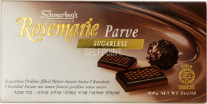 Rosemarie - Dark Sugarfree (Parve) 100g