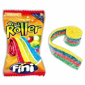 Sour Fruit Roll Rainbow (colored) 20g