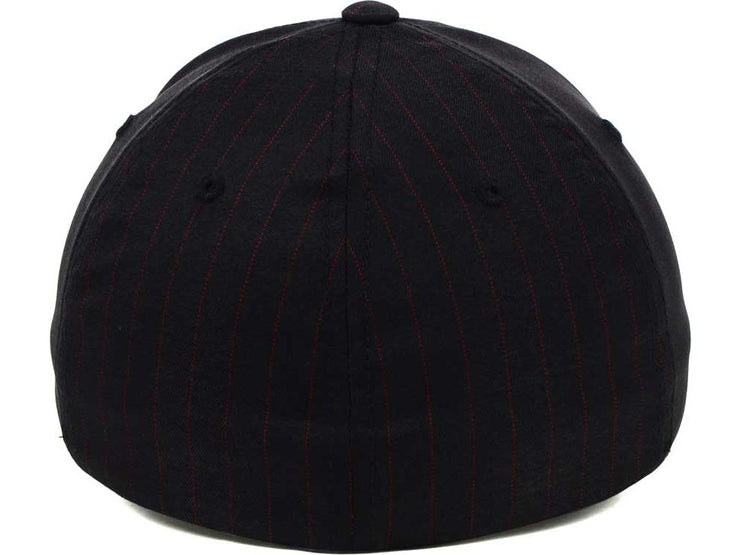 Flexfit Pinstripe Home Run - Black/Red