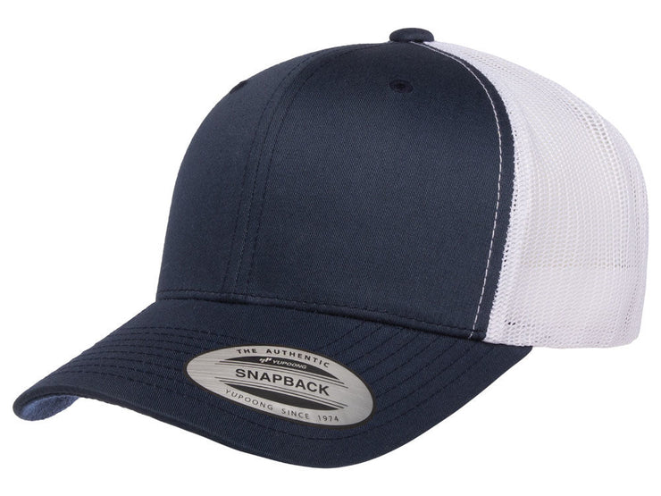 Flexfit Fan Trucker 14 - Navy/White