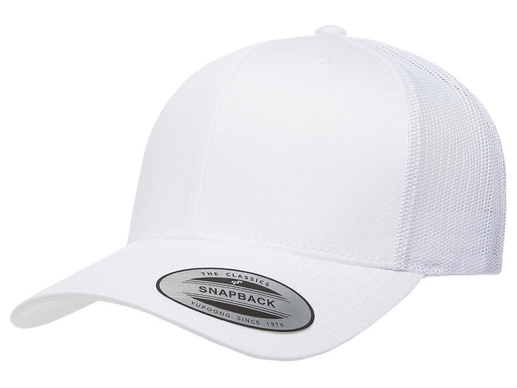 Flexfit Fan Trucker 14 - White/White