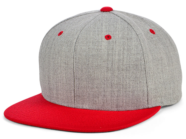 Flexfit Snapback 14 - Gray/Red