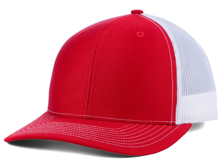Richardson 112 Trucker - Red/White