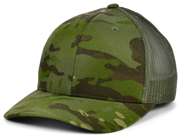 Flexfit Fan Trucker 14 - Green/Camo