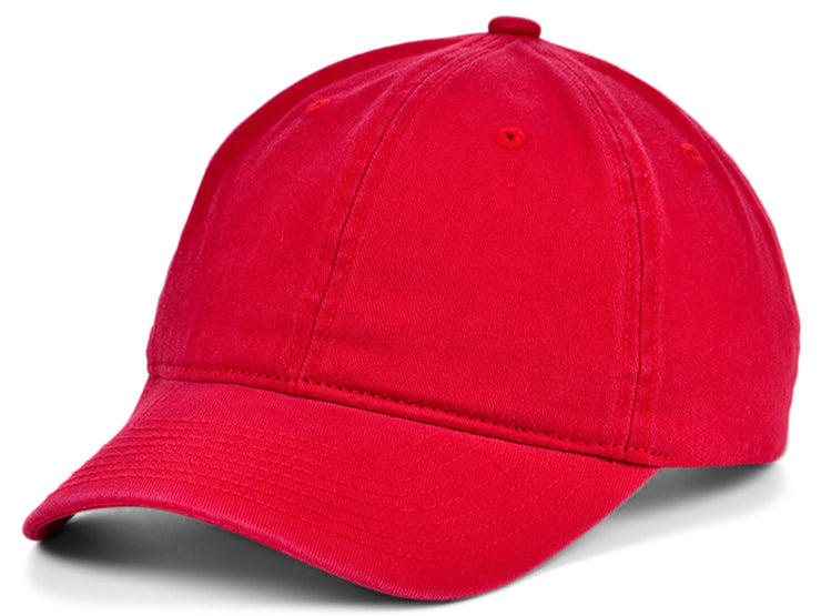 Mitchell & Ness Basic Blank Dad Hat - Red