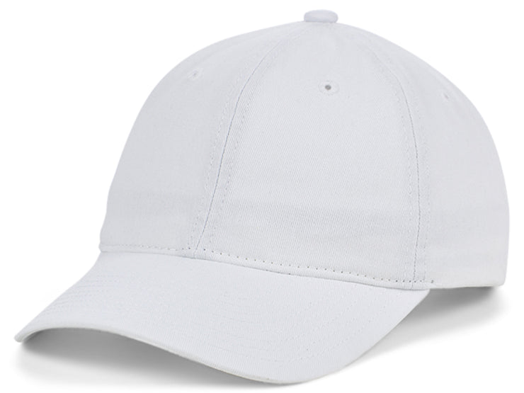 Mitchell & Ness Basic Blank Dad Hat - White