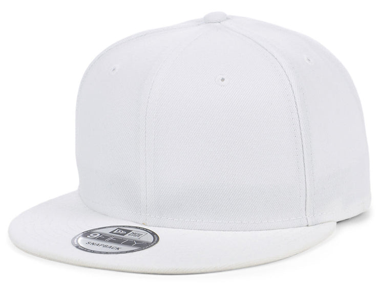 New Era Custom 9FIFTY - White/White