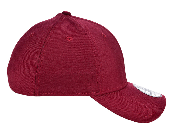 New Era Blank Poly 3930 - Cardinal Red