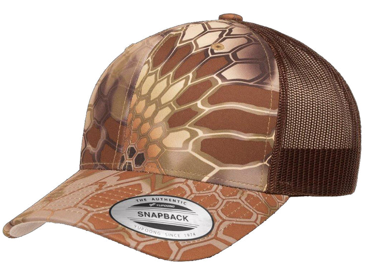 Flexfit Kryptek Trucker Hat - Brown