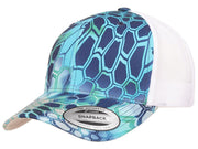 Flexfit Kryptek Trucker Hat - Blue