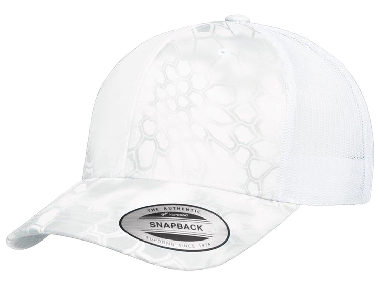 Flexfit Kryptek Trucker Hat - White