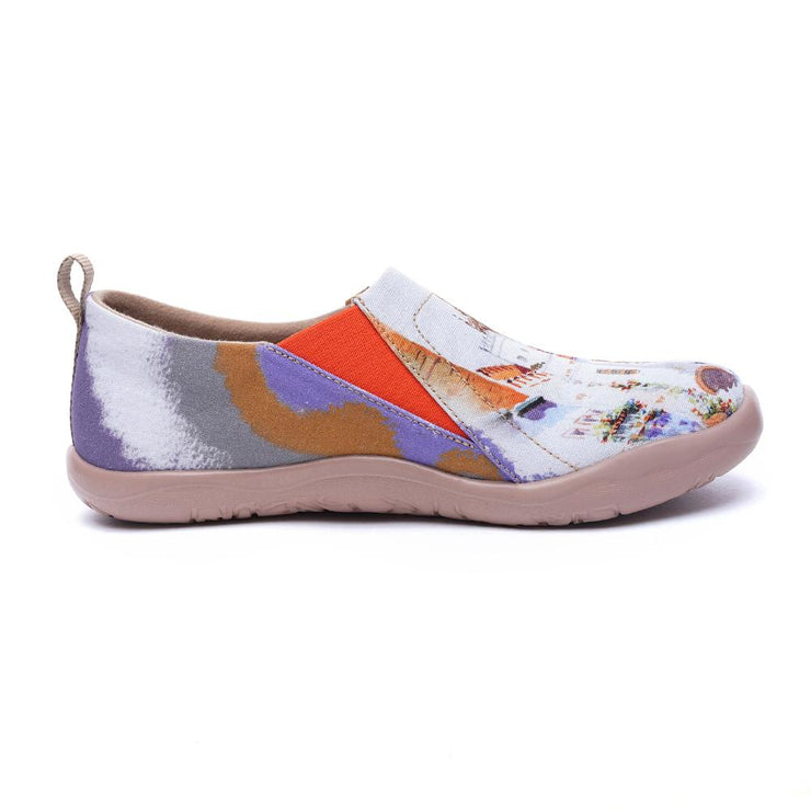 PATIOS BONITOS Women Art Designed Flat Shoes