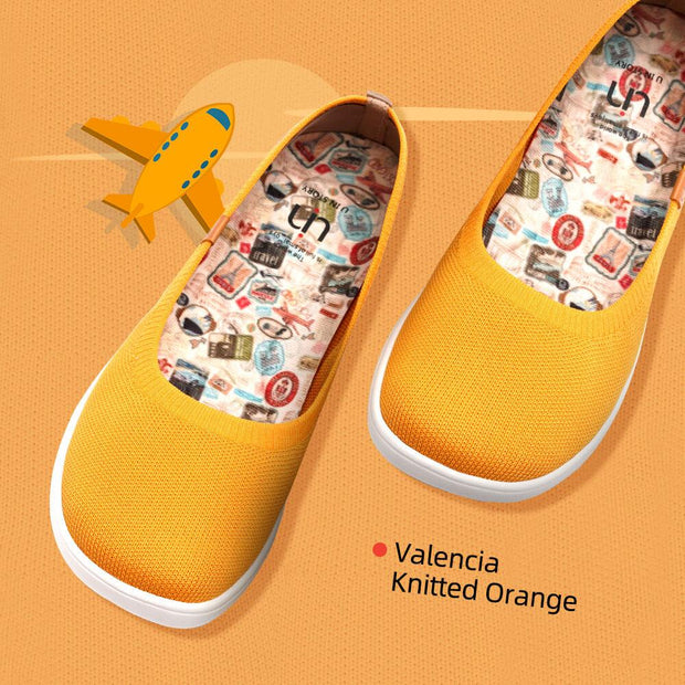 Valencia Knitted Orange
