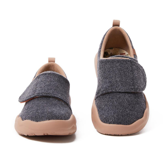 Toledo II Deep Grey Wool Kid